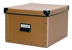cargo Naturals Shelf Box, Nutmeg, 4-Pack