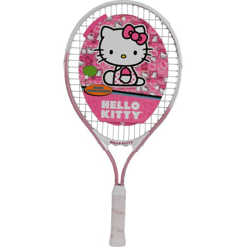 Brand New Hello Kitty Junior Tennis Racquet. Great Gift For Kid ! (19 Inch)