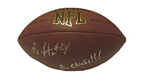 Brandon Flowers Autographed Signed NFL Wilson Composite Football Featuring Go Chiefs!... by Southwestconnection-Memorabilia