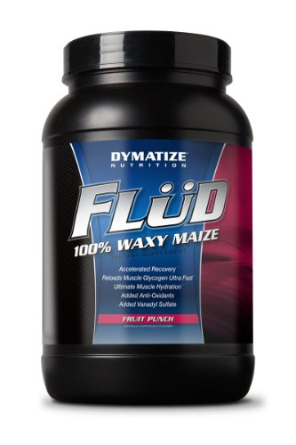 Dymatize Flud Fruit Punch 4.14lb Waxy Maize Post Workout