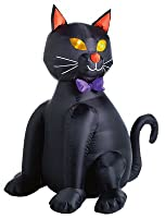 Citi Talent 90-224-087 Halloween Inflatable Lawn Decoration, Black Cat, Lighted, 48-In. from Citi Talent