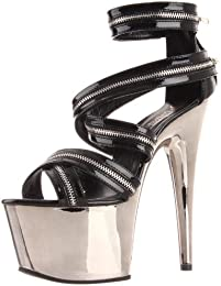 Pleaser Women s Adore 767 B PWCH Platform Sandal
