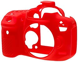 EasyCover Silicone Camera Case for Canon EOS 7D Mark II (Red)