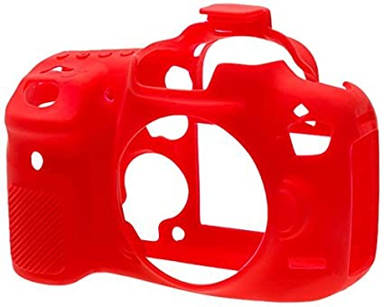 EasyCover-Silicone-Camera-Case-for-Canon-EOS-7D-Mark-II-(Red)
