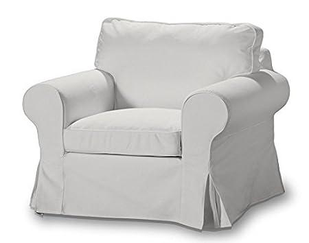FRANC Textile 612-705-01 Ektorp Arm Chair One Seater Burdeaux Fabric Sesselhusse, Ektorp Armchair Etna, Natural by FRANC-TEXTIL