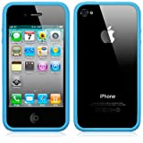 BUMPER CASE FOR APPLE IPHONE 4S / IPHONE 4 - BLUE PART OF THE QUBITS ACCESSORIES RANGEby Qubits