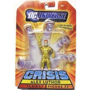 DC Universe Crisis Alex Luthor Figure