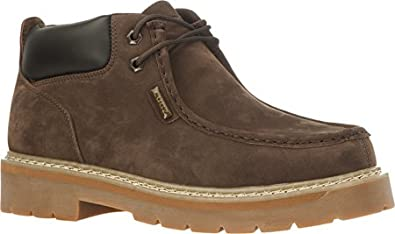 LUGZ Men's Garvin Moc Toe (Walnut/Bark/Gum 6.5 D)