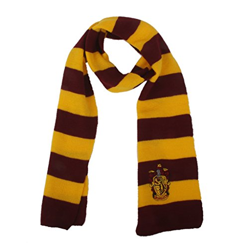 Popular Fashion Vouge Gryffindor House Cosplay Knit Wool Costume Scarf Wrap - Yellow and Wine Red, 21,5 x 8,5 cm (Cosplay House compare prices)
