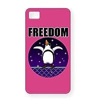 脱走ペンギン6 iPhone4Sシェルカバー(ピンク)