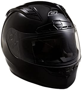O'Neal Fastrack II Motorcycle Helmet with Bluetooth Technology (Black, X-Large)