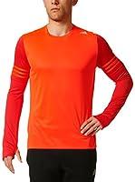 adidas Camiseta Manga Larga Rs Ls M (Rojo)