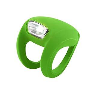 Knog Frog Strobe Lumière avant 1 LED Vert citron