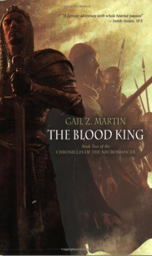 Cover of The Blood King (Chronicles of the Necromancer, Book 2)