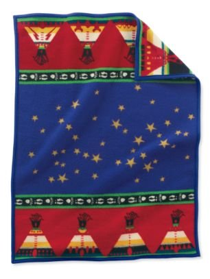 Pendleton Baby Blanket: Muchacho Chief's Road