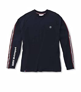 Bmw Mens Motorsport Longsleeve - Dark Blue by BMW Lifestyle