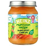 Heinz Mum's Own Recipe Sweet Potato & Beef Pie 4+ Mths 128G