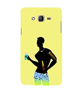 iFasho Designer boy Back Case Cover for Samsung Galaxy On 7