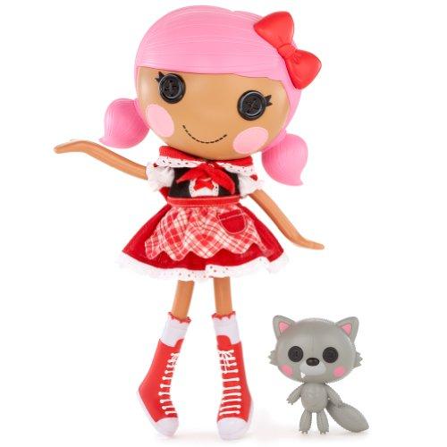 MGA Entertainment 514626E5C - Lalaloopsy Puppe- Scarlet Riding Hood