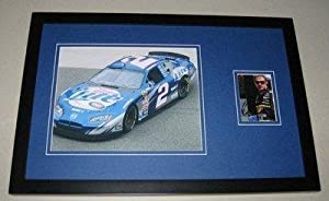 Signed Rusty Wallace Photo - Miller Lite Framed 11x17 Display - Autographed NASCAR... by Sports Memorabilia