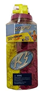 500ct Water Splashers Water Bombs Team Tubes Balloons -Biodegradable by Imperial Toy