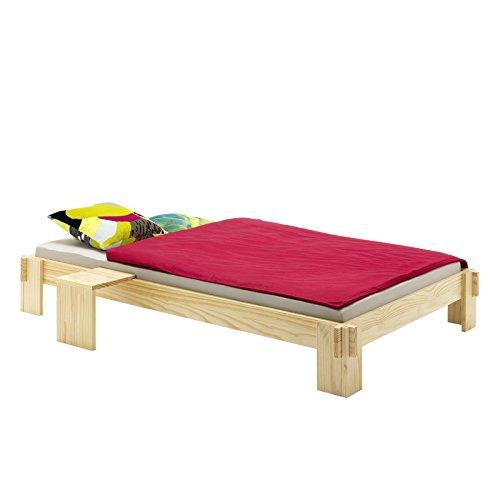 FutonbettJugendbett-Bett-Kiefer-massiv-natur-lackiert-90-x-200-cm-B-x-L