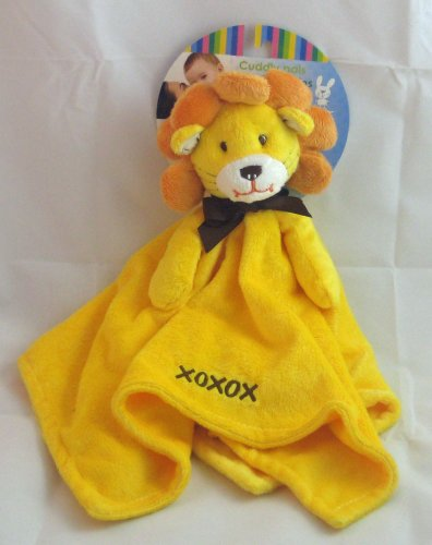 Honey Bunny Cuddly Pals Baby Soft Plush Lion Security Blanket
