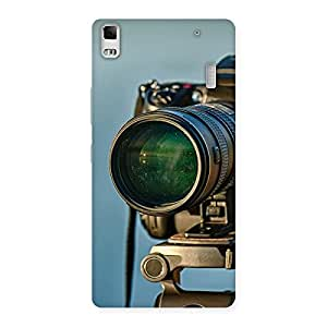 Delighted Huge Camera Multicolor Back Case Cover for Lenovo K3 Note