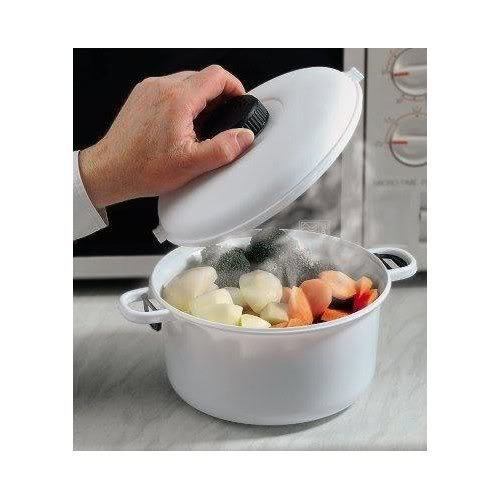 Sherwoood Home Micro Master Microwave Pressure Cooker Casserole Dish & Locking Lid