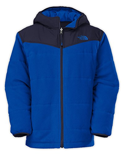 The North Face Boys' Reversible True or False Jacket Monster Blue Large