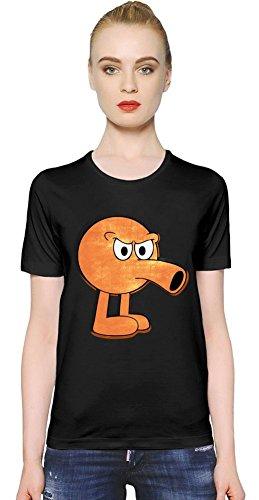 Angry Qbert Womens T-shirt