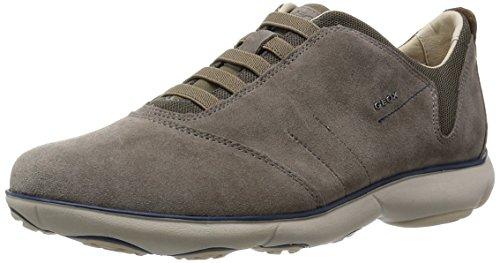 Geox U Nebula B, Sneaker Uomo, Grigio (Dove Grey), 42 EU