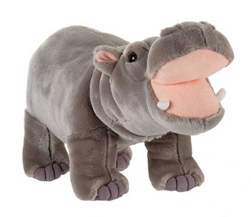 Standing Hippo Stuffed Animal