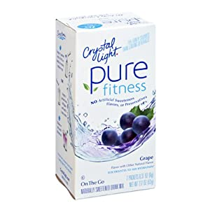 Amazon Com Crystal Light Pure Fitness On The Go Grape