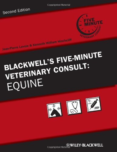 Blackwell's Five-Minute Veterinary Consult: Equine PDF