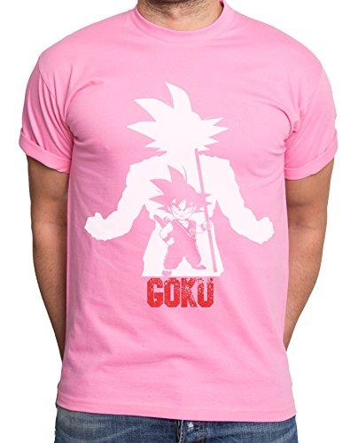 Over-Goku-Camiseta-de-hombre-Goku-Dragon-Master-Son-Ball-Vegeta-Turtle-Roshi-Db-Farbe2RosaGre2XXL