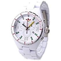 Adidas Unisex Cambridge ADH2632 Polyurethane Quartz Watch with White Dial