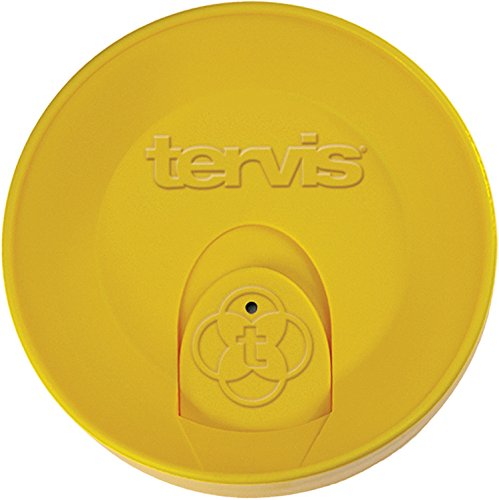 Tervis 24 oz. Yellow Travel Lid (Tervis Tumbler 15oz With Lid compare prices)