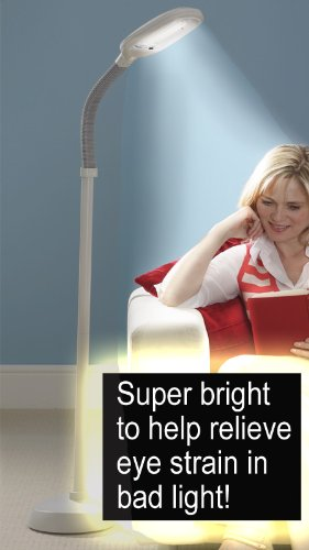 FULL SPECTRUM FLOOR STANDING NATURAL SAD LIGHT THERAPY LAMP