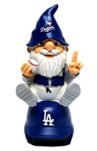 Los Angeles Dodgers Gnome On Team Logo by Team Beans