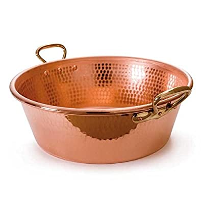 Mauviel Cookware: M'Passion Copper Jam Pan with Bronze Handles