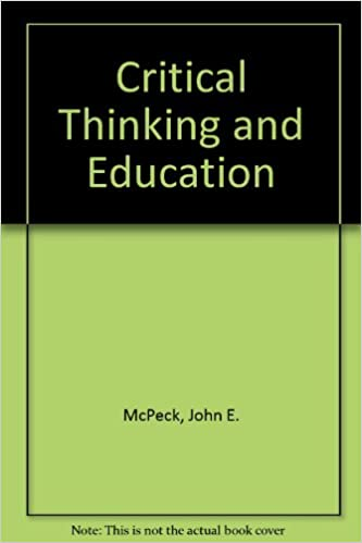 Importance of critical thinking - Health and Physical Education Online