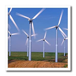 ht_95201_1 Danita Delimont - Energy - USA, Washington, Wind turbines energy - US48 CCR0118 - Charles Crust - Iron on Heat Transfers - 8x8 Iron on Heat Transfer for White Material