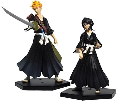 Bleach Series 1: Ichigo & Rukia Action Figures 2-Pack
