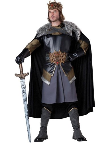 Medieval King Adult Costume Xl Adult Mens Costume
