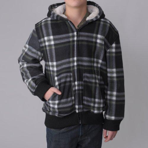 Boston Traveler Boys Fleece-lined Hooded Jacket