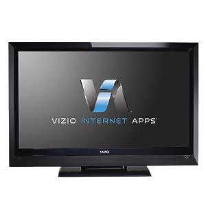 VIZIO E322VL 32-Inch LCD HDTV with VIZIO Internet Application, Black