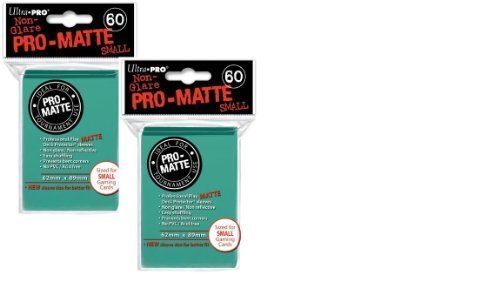 Ultra Pro Pro-matte Small (120 Count) Aqua Deck Protector Sleeves - Yugioh