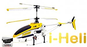 5 STAR SHOP® New i-Heli T40C Shuttle 81CM Long High-Defination Camera Radio Control helicopter with 2.4GHz Radio Control Technology