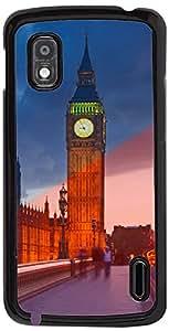 PrintVisa Travel Big Ben Case Cover for LG Nexus 4